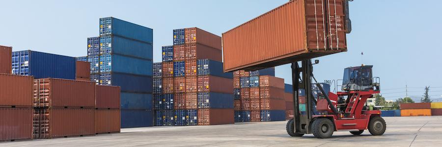 Lift Trucks for Shipping Logistics