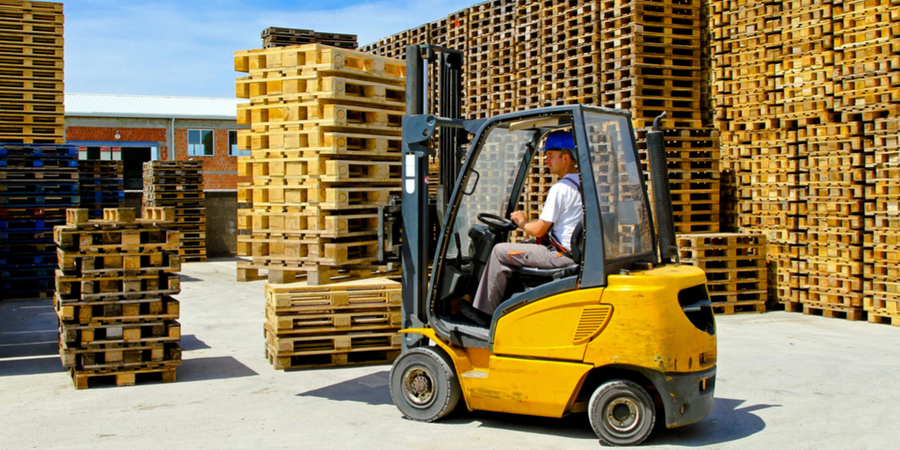 Tips for Operating Forklifts Outdoors