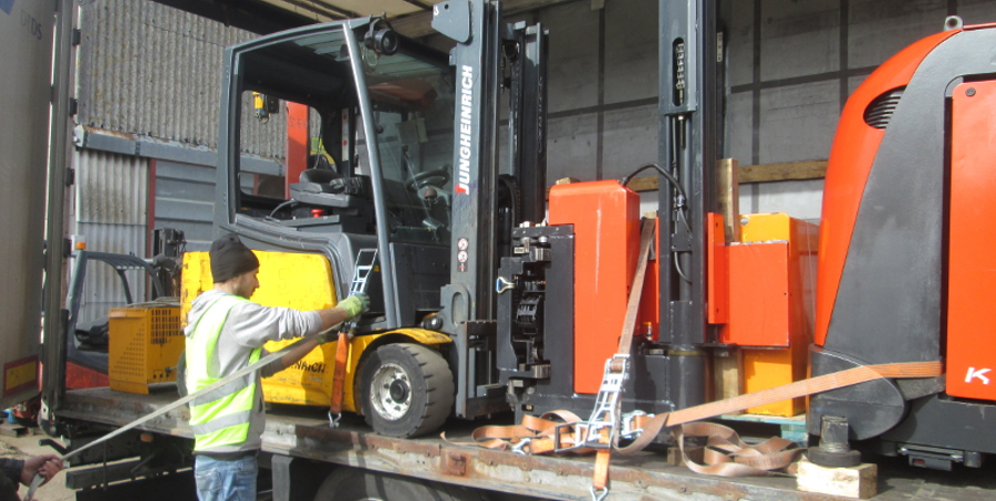 Our Second Hand Forklift Delivery Promise To Customers In Spain