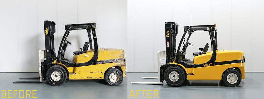 Forklift Truck Refurbishment and Restoration