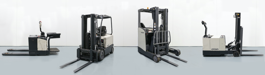 PHL Expands its Stock with Over 200 Second-Hand Crown Forklifts