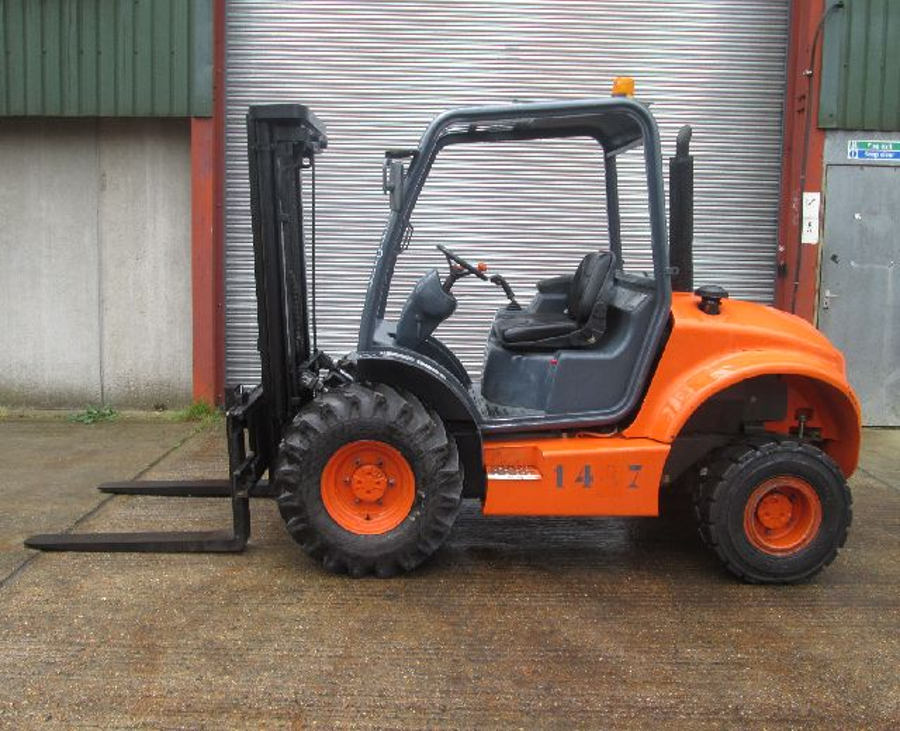 When the Going Gets Rough, Choose a Rough Terrain Forklift