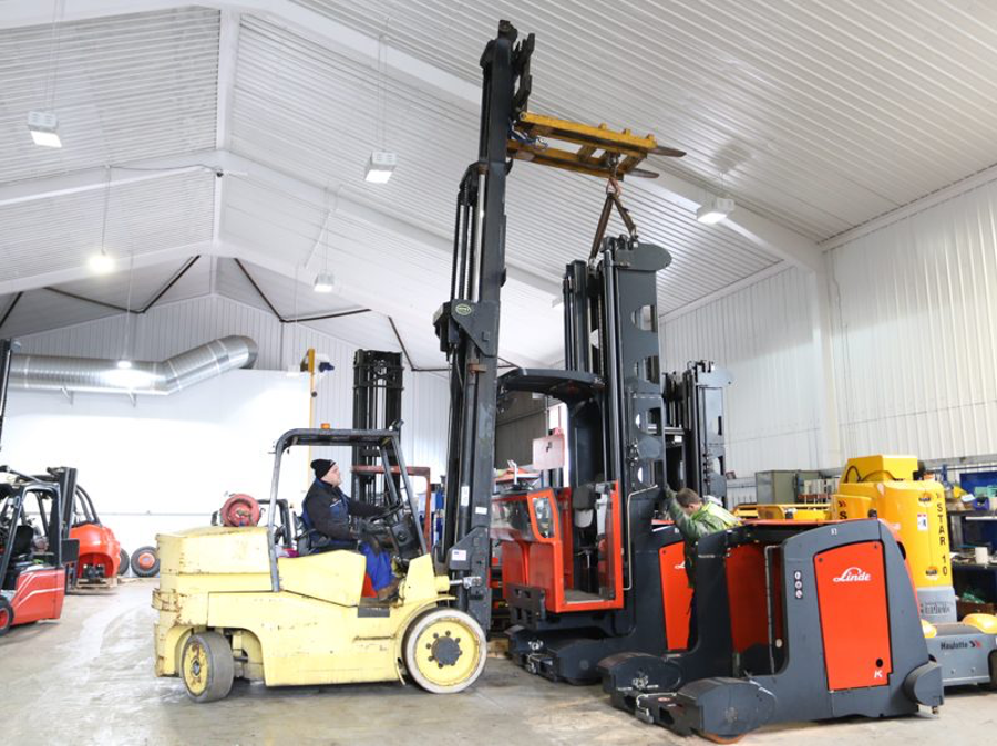Which Are the Most Popular Forklift Brands in the World?