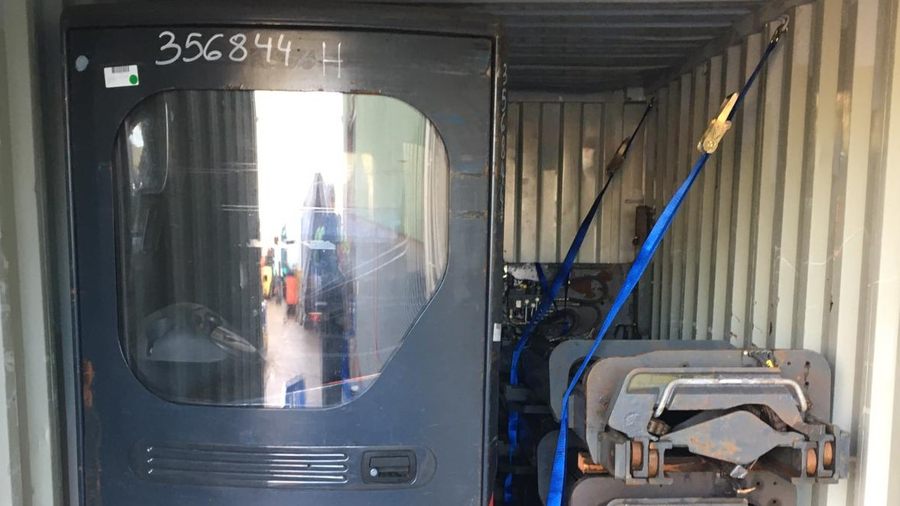 Exporting Used Forklifts to Peru